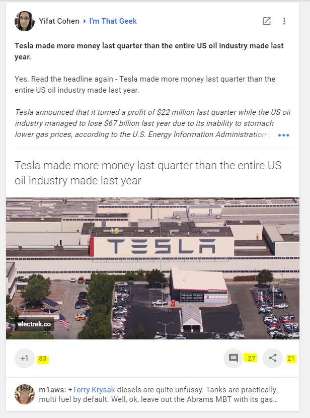 Tesla brand exposure